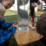 Wasser erforschen, exploring water