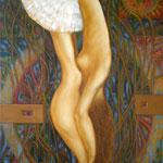 Балерина, Ballerina, 60 x 80 cm, 2012, Oel auf Leinwand (verkauft, sold)