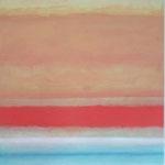 sunrise, 180x120cm 2001 acryl on canvas  (sold)
