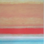 sunrise, 180x120cm 2001 acryl on canvas  (sold)