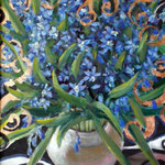 Пролески,Bluebells, Glockenblumen   20x30cm, 2008