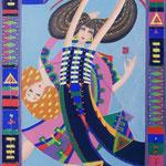 Freude, 50 x 40 cm, Acryl auf Leinwand - verkauft / sold