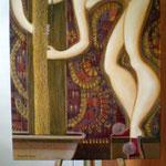 Bad, Bath, 60 x 70 cm, 2012, Oel auf Leinwand (verkauft, sold)