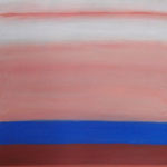 atmosphere 2009 100x70cm acryl on canvas