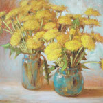 Blumen, 40 x 50 cm, Oel