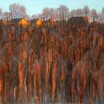 Am Abend, 50 x 70 cm, 2014, Oel auf Leinwand