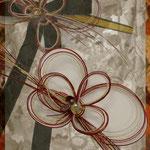 [ Japonism bouquet ] 2009   material: mizuhiki, grass, velvet ribbon