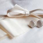 [ Kaoru's earring ] 2010  material: silk, brass, grass beads