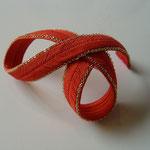 [ MIYABI headdress 2008]  material: silk,bress