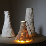 Handmodellierte Unikate aus Porzellan