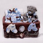 """Подарочный набор для новорожденного мальчика """" Серенький Мишутка"""""""