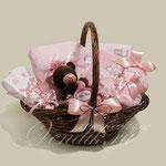"""Подарочная корзина для девочки """"Сhocolate"""""""