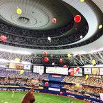 阪神タイガースの座席よりジェット風船(京セラドーム)大阪府Sさん