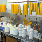 Kerzenproduktion