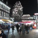 Weihnachten auf dem Marktplatz