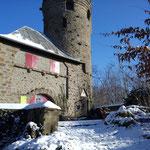 Bismarckturm auf dem Hemsberg (Sonn- und feiertags bewirtschaftet)