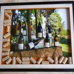 encadrement photos de vin PINARD