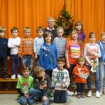 Weihnachtsfeier 2013 mit Ehrung der Sieger vom Luftballonweitflugwettbewerb
