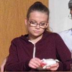Marina Spottke (unser Jüngste im Team) gab 2016 ihr Debüt als Enkelin eines Gauners und überraschte viele.