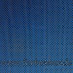 Dunkelgrau mit blauen Blümchen