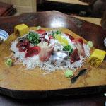 Sashimi (roher Fisch)