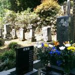 Japanisches Grab