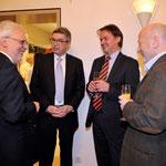 Dr. Michael Kuderna, Dr. Gunter Hauptmann, Michael Thieser, Dr. Andreas Kindel