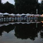 Abendliche Stimmung beim Bürgerfest des Bundespräsidenten 2013, Foto: Manuel Werner, Nürtingen, alle Rechte vorbehalten!