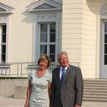 Daniela  Schadt und Bundespräsident Joachim Gauck beim Bürgerfest des Bundespräsidenten 2013, Foto: Manuel Werner, Nürtingen, alle Rechte vorbehalten!