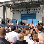 Bühne beim Bürgerfest des Bundespräsidenten 2013, Foto: Manuel Werner, Nürtingen, alle Rechte vorbehalten!