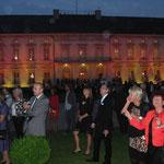 Schloss Bellevue im Farbenrauch beim Bürgerfest des Bundespräsidenten 2013, Foto: Manuel Werner, Nürtingen, alle Rechte vorbehalten!
