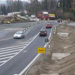 das wird noch 2 Jahre zum neuen Nadelöhr-Ortseinfahrt  Chemnitz bis Südring