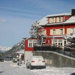 So schön kann Winter sein in Malbun-hier Alpenhotel Vögeli; Foto: Meinert