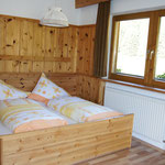 Doppelbettzimmer im Appartement Riedhof