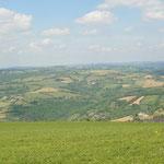 Panorama direction Nord depuis le Puech