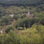 Saint Igest vu de la vallée