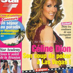 Celine Dion - Couverture Télé Star Magazine [France] (7 Avril 2003)