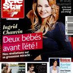 Ingrid Chauvin , Céline Dion... - Couverture Télé Star Magazine [France] (20 Février 2016)