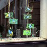 fenster gasse mit jade und silber-gold-kombinationene
