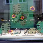 Schaufenster Hauptstraße, Amethyst, Rutilquarz....