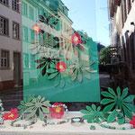 Schaufenster Leyergasse, Jade