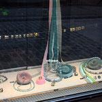 schaufenster hauptstrasse, aquamarin