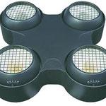 X-BLINDER:10台 LED BLINDER 1灯ずつDMX制御可能 エレクトリックストロボ