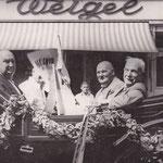 Festwagen Brezelfest 1951