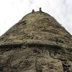 Blick auf den Bergfried