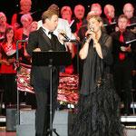 Greif nach den Sternen - Johannes Kalpers und Solistin Claudia Fiddicke