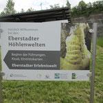 Zur Eberstadter Tropfsteinhöhle