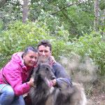 Wir 3 im Wald