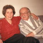 Steffi und Josef Kaderka in ihrer Wohnung