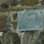Compagnie d'assurance de l'église de Marcourt (Voir sur la façade)